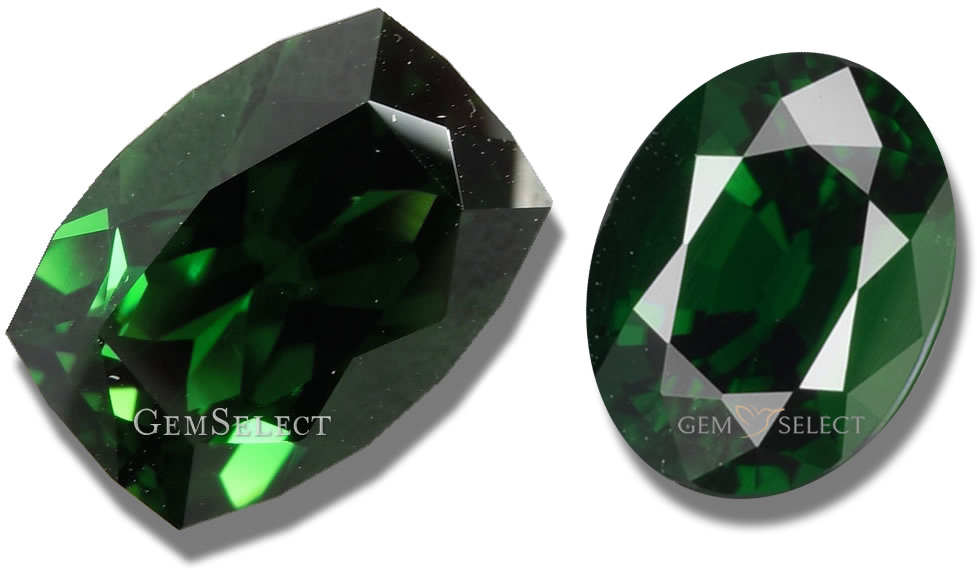 Chrome Tourmaline Gemstones from GemSelect - Large Image