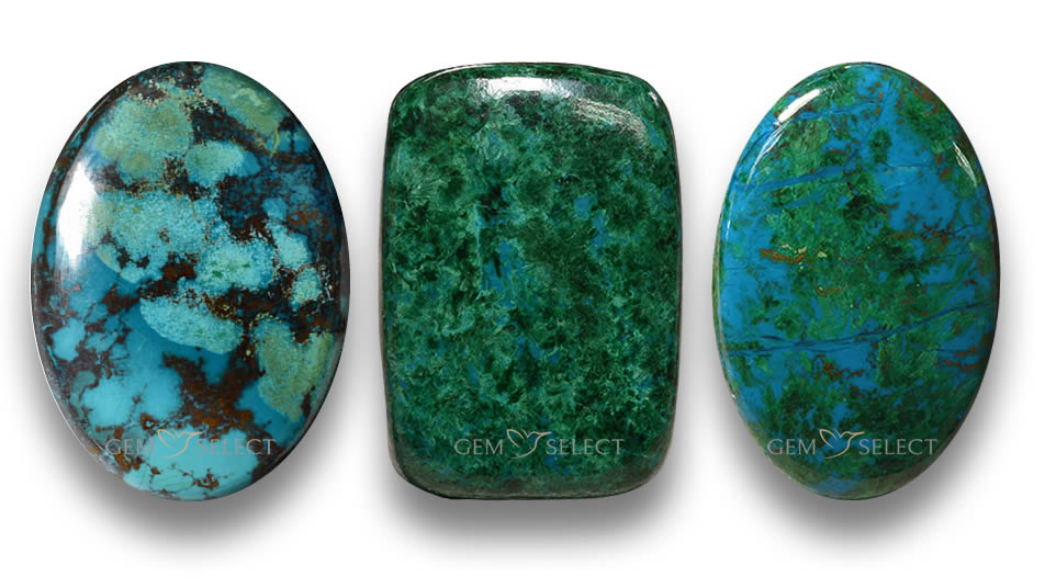Chrysocolla Gemstones from GemSelect - Large Image