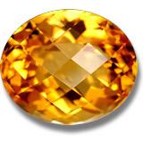 Naturale citrino d'oro