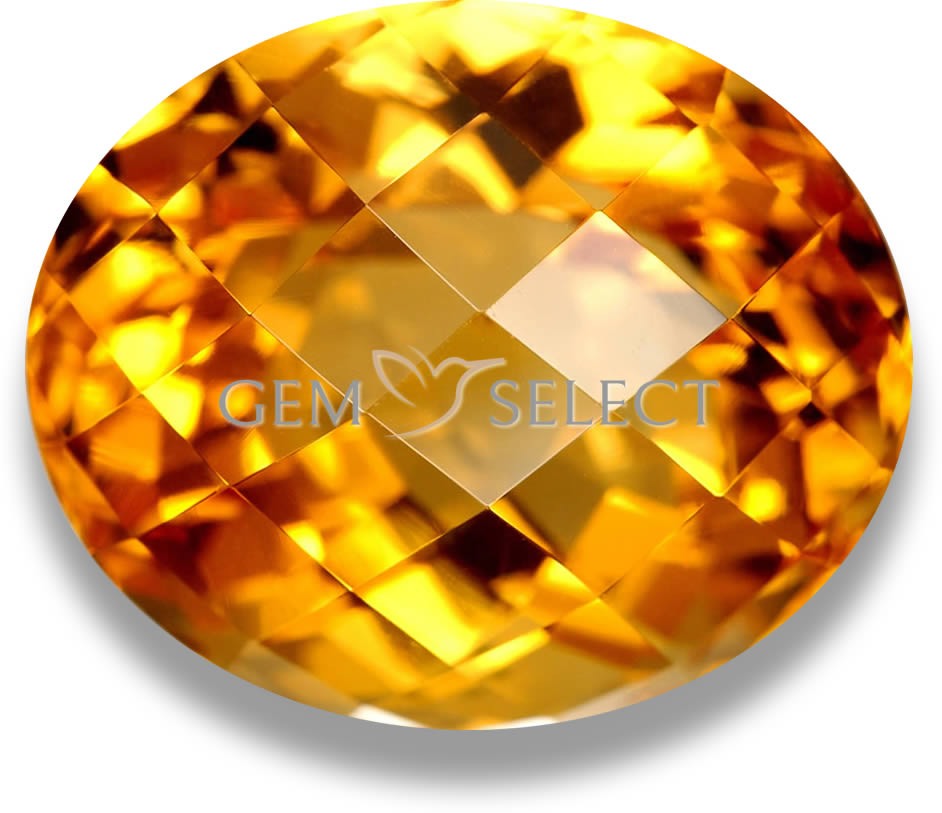 Natural Citrine Gemstones, Lots, and Geodes from GemSelect - Large Image