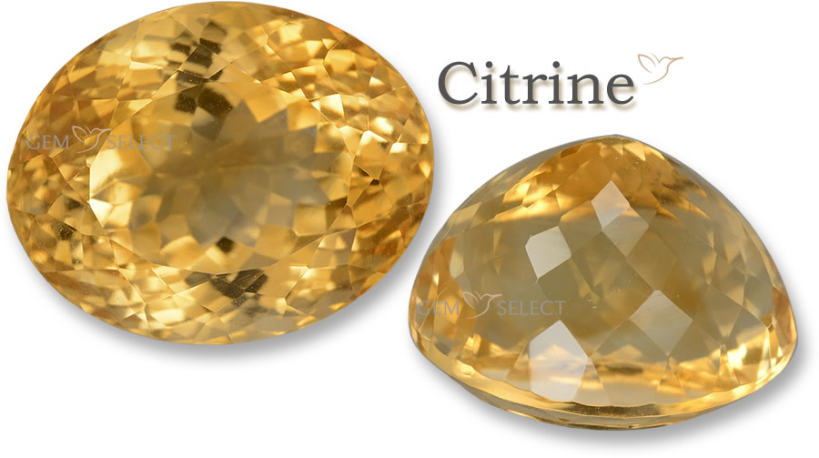 Citrine Gemstones for Gemini from GemSelect - Large Image