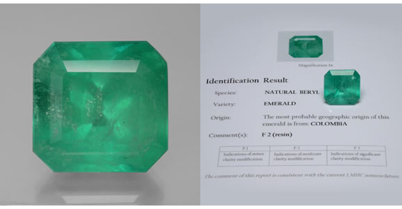 Certified Colombian Emerald