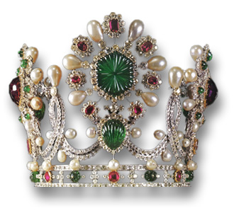 Jewel-Encrusted Crown