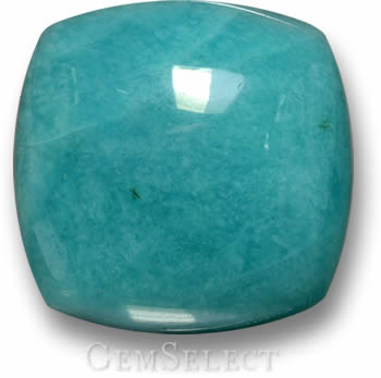 Cushion-Shaped Amazonite Cabochon