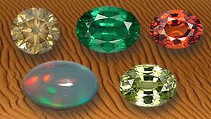 Desert Gemstones and Minerals