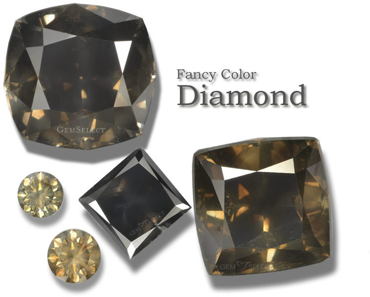 Fancy Colored Diamonds from GemSelect - Large Image