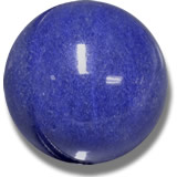 Blue Dumortierite Quartz Cabochon