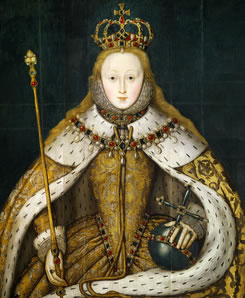 Queen Elizabeth I Queen Of Pearls