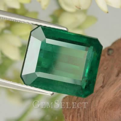 Emerald-Cut Emerald from GemSelect
