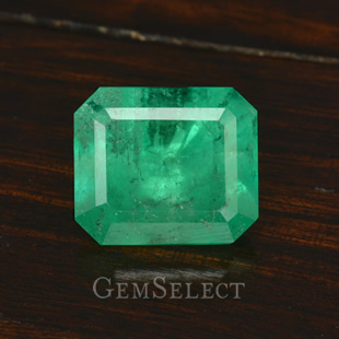 Emerald-Cut Emerald Gemstone