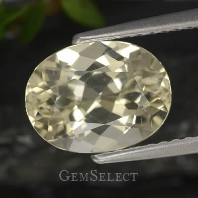 Faceted Scapolite Gemstone
