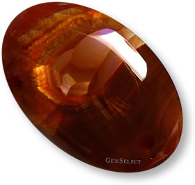Multicolor fire agate gemstone