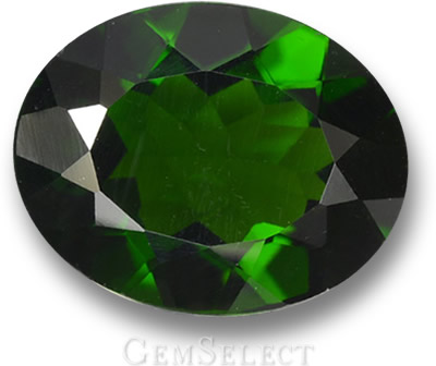 Forest-Green Chrome Diopside Gem
