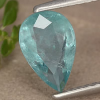 Faceted Grandidierite Gemstone