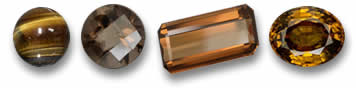 Brown and Bronze Gemstones
