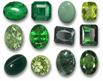 Gemstones by Color - Gemstone Information - GemSelect
