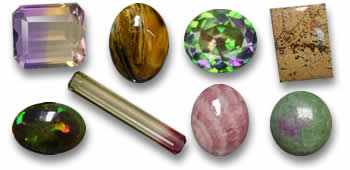 Buy multicolor gemstones from GemSelect