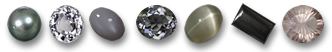 Gray and Sliver Gemstones from GemSelect