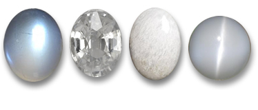 Natural White Gemstones