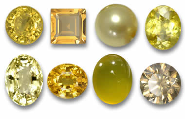 Yellow Golden Gemstones from GemSelect
