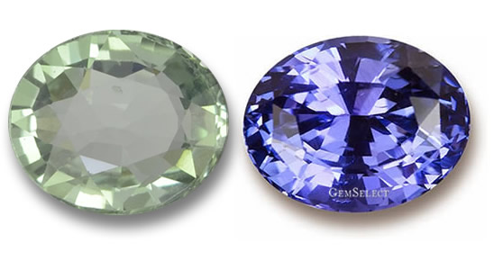 Windowed Gemstone and Well-Cut Gemstone