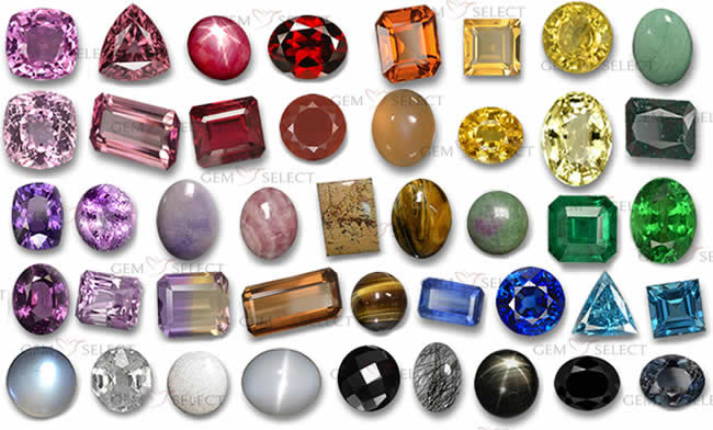 Colored Gemstones from GemSelect - Large Image