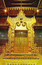 "The Golden ""Lion Throne"" of King Thibaw"