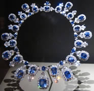 The Hall Sapphire and Diamond Necklace