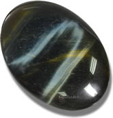 Hawk's Eye Cabochon Gemstone