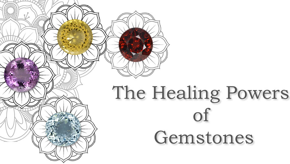 Large Photo of Healing Gemstones