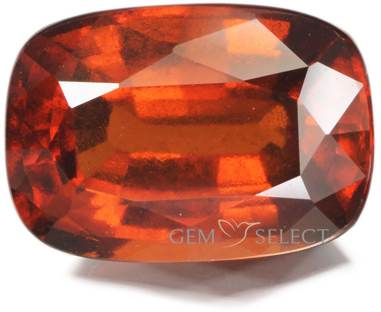 A Hessonite Garnet Gemstone from GemSelect - Large Image