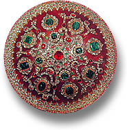 Iranian Jeweled Shield