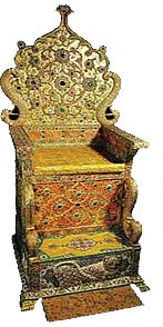 Jeweled Imperial Persian Throne
