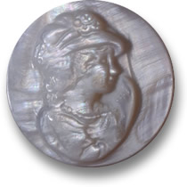 Iridescent Mother-of-Pearl Cameo