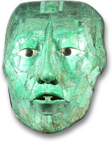 Jade Mask of Pacal the Great