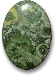 Multicolor jasper gemstone