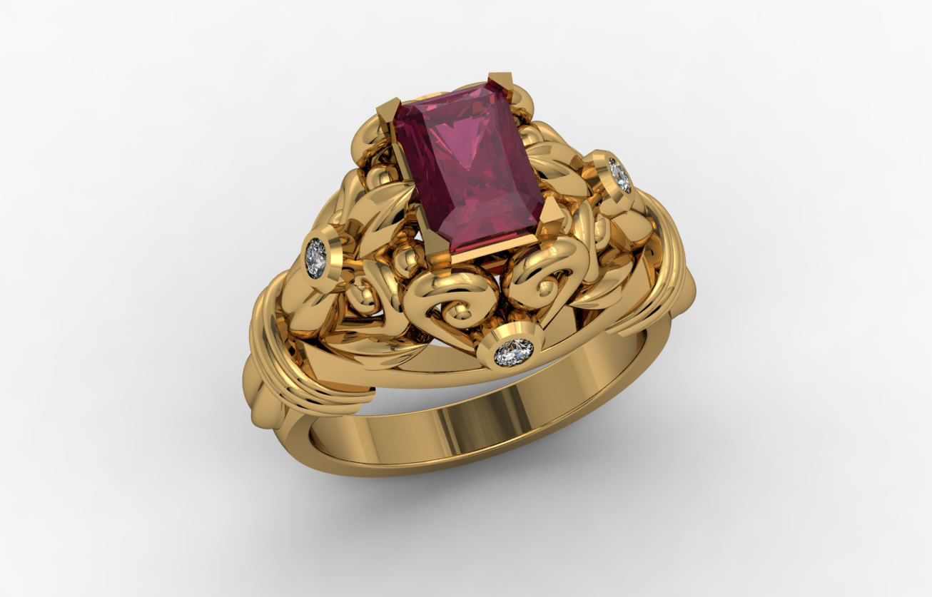 Ruby Ring Natural Ruby Gemstone Jewelry Information