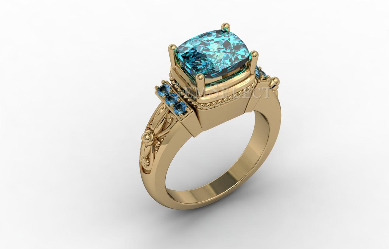 Zircon Rings: Natural Zircon Gemstone Jewelry Information ...