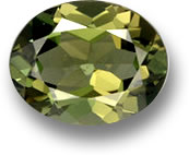 Oval Kornerupine Gemstone