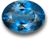London blue topaz gem
