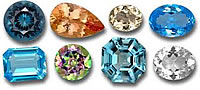 Loose Topaz Gemstones