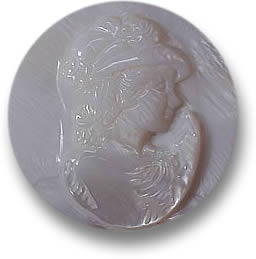 Mother of Pearl Cameo for Pendant