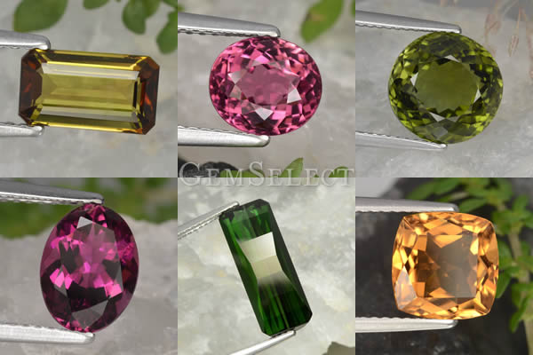 Natural Tourmaline from Mozambique