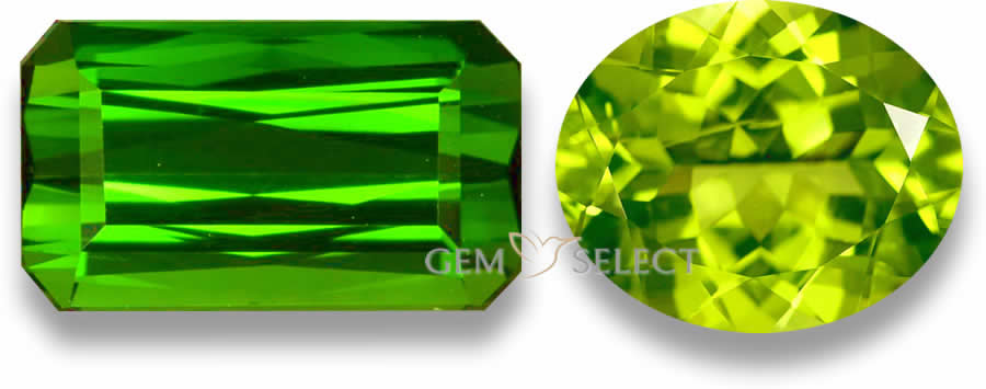 Green Gemstones from GemSelect - Large Image