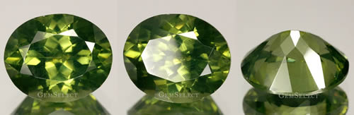 Natural Green Metamict Zircon