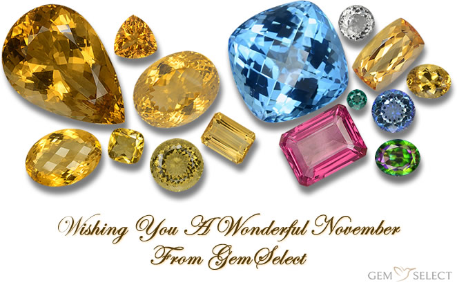 November Gemstones from GemSelect - Large Image