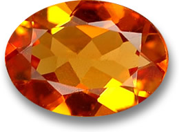 Orange Clinohumite Gemstone