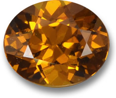 Orange Mali Garnet Gemstone