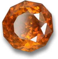 Orange Sphalerite Gemstone