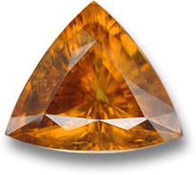 Orange Sphene Gemstone